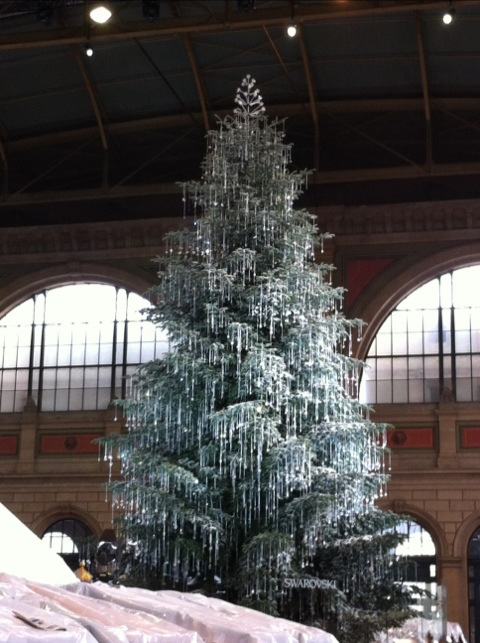 2011 Swarovski Tree In Zurich